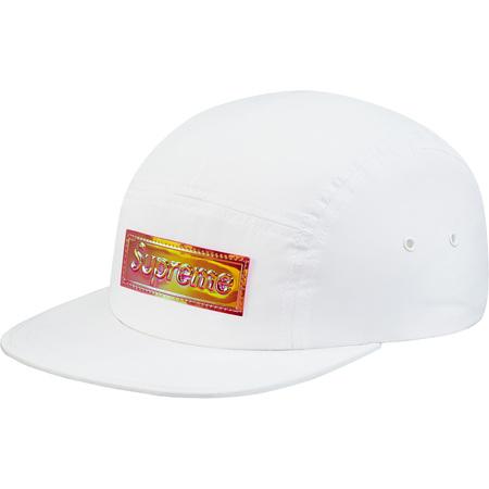 Iridescent Logo Camp Cap (White)