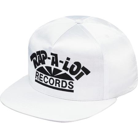 Supreme®/Rap-A-Lot Records Satin 5-Panel (White)