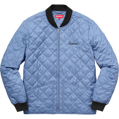 Zapata Quilted Work Jacket (Light Blue)