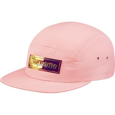Iridescent Logo Camp Cap (Pink)