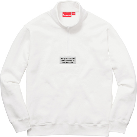 3M® Reflective Excellence Half Zip Sweat (White)
