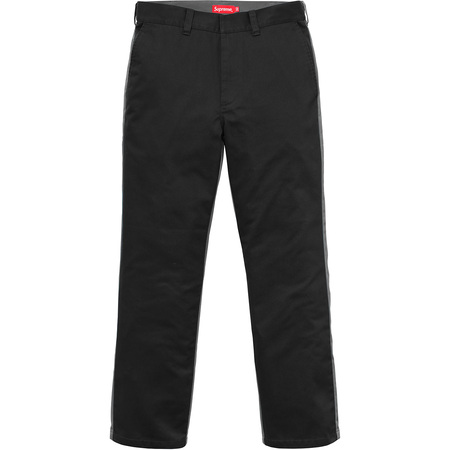 Split Work Pant (Black/Grey)