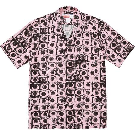 Supreme®/Comme des Garçons SHIRT® Eyes Rayon Shirt (Pink)