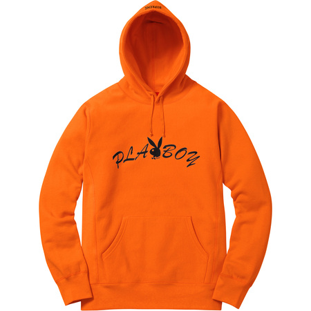 Supreme®/Playboy© Hooded Sweatshirt (Orange)