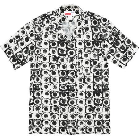 Supreme®/Comme des Garçons SHIRT® Eyes Rayon Shirt (White)