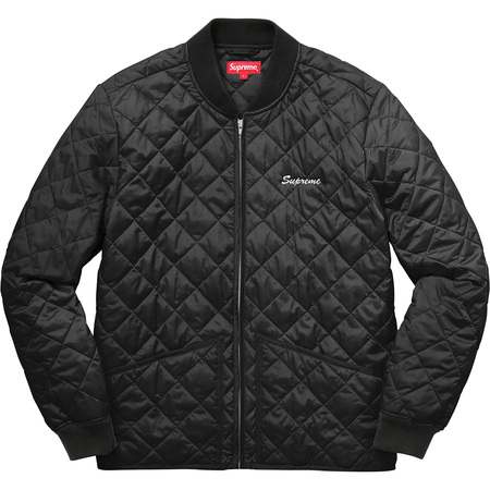 Zapata Quilted Work Jacket (Black)