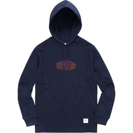 Warp Hooded L/S Top (Navy)