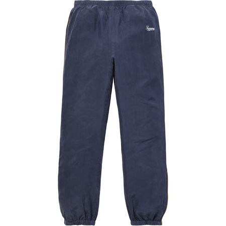 Silk Warm Up Pant (Navy)