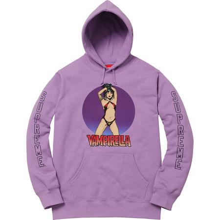 Vampirella® Hooded Sweatshirt (Dusty Lavender)