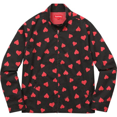 Hearts Harrington Jacket (Black)