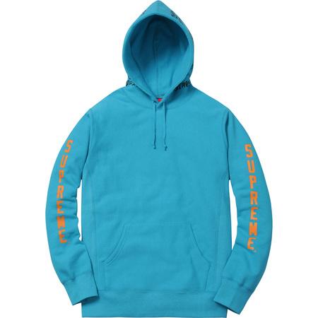 Supreme®/Thrasher® Boyfriend Hooded Sweatshirt (Light Aqua)