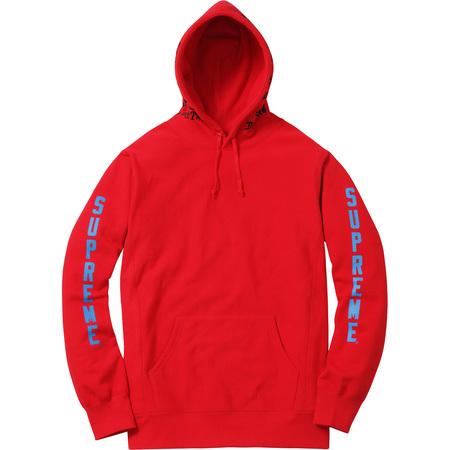 Supreme®/Thrasher® Boyfriend Hooded Sweatshirt (Red)