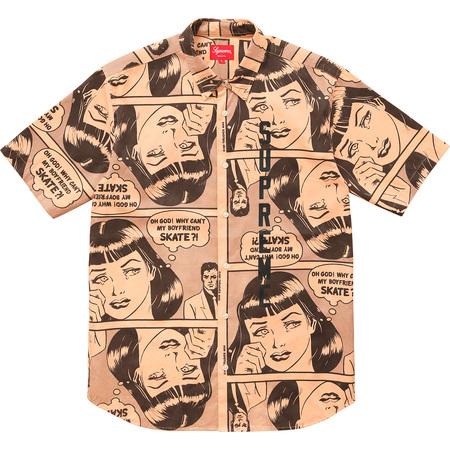 Supreme®/Thrasher® Boyfriend S/S Shirt (Light Orange)
