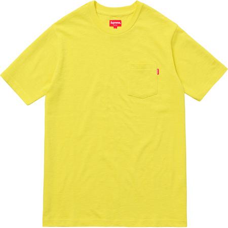 Pocket Tee (Bright Yellow)