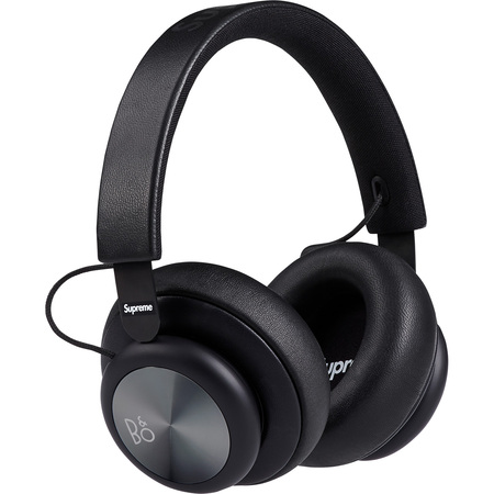 Supreme®/B&O PLAY by Bang & Olufsen® H4 Wireless Headphones (Black)