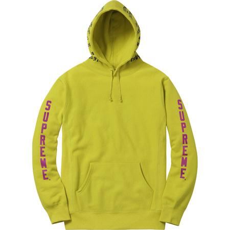 Supreme®/Thrasher® Boyfriend Hooded Sweatshirt (Pea Green)