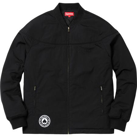 Supreme®/Thrasher® Poplin Crew Jacket (Black)