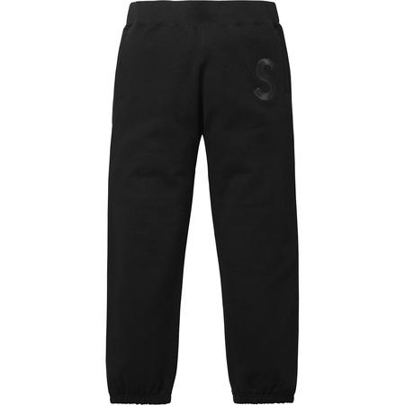 Tonal S Logo Sweatpant (Black)