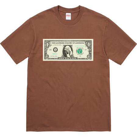 Dollar Tee (Brown)