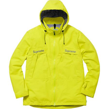 Taped Seam Jacket (Bright Yellow)