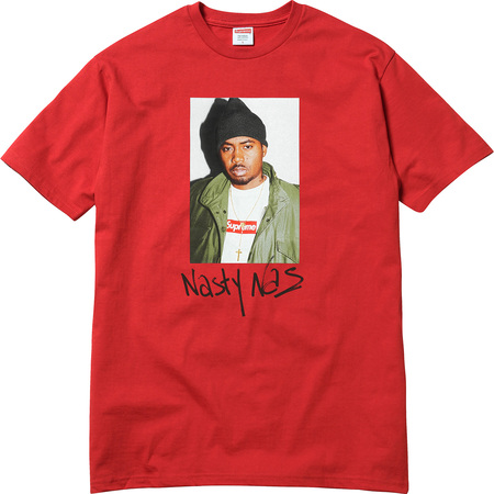 Nas Tee (Red)