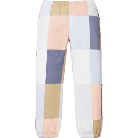 Patchwork Sweatpant (Off White)