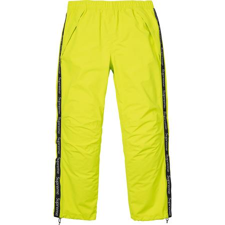 Taped Seam Pant (Bright Yellow)