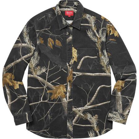 Realtree® Camo Flannel Shirt (Black)