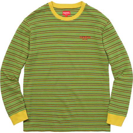 Raised Stripe L/S Top (Yellow)