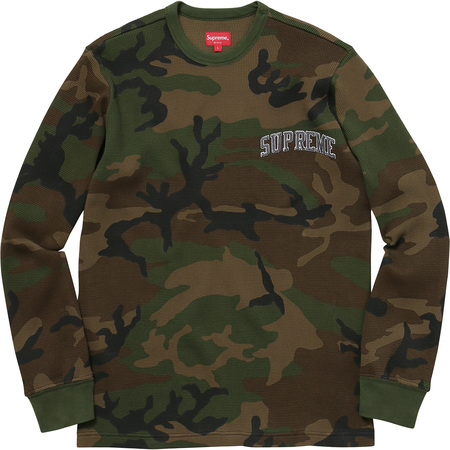 Arc Logo L/S Thermal (Woodland Camo)