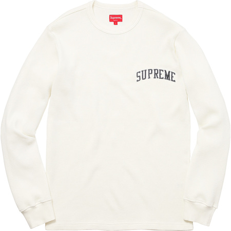 Arc Logo L/S Thermal (White)