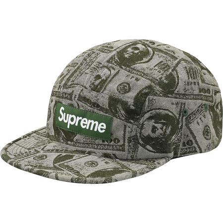 100 Dollar Bill Camp Cap (Green)