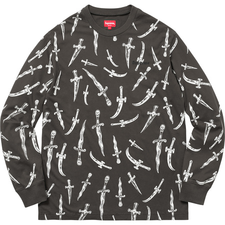 Daggers L/S Top (Black)