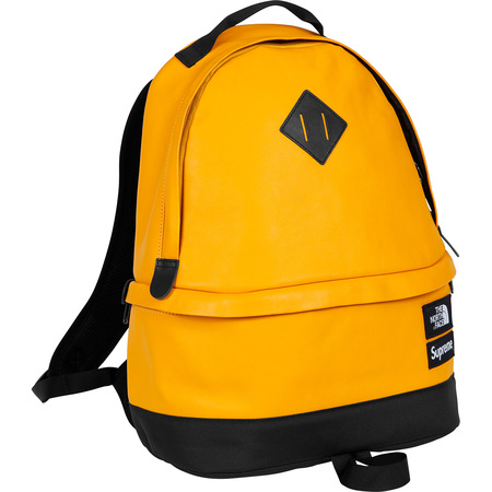 Supreme®/The North Face® Leather Day Pack (Yellow)