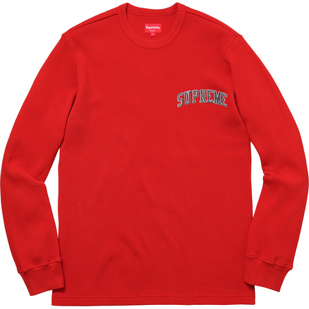 Arc Logo L/S Thermal (Red)
