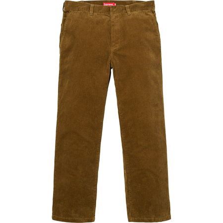 Corduroy Work Pant (Brown)