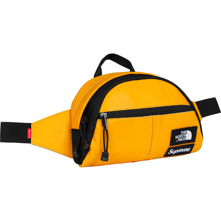 Supreme®/The North Face® Leather Roo II Lumbar Pack (Yellow)