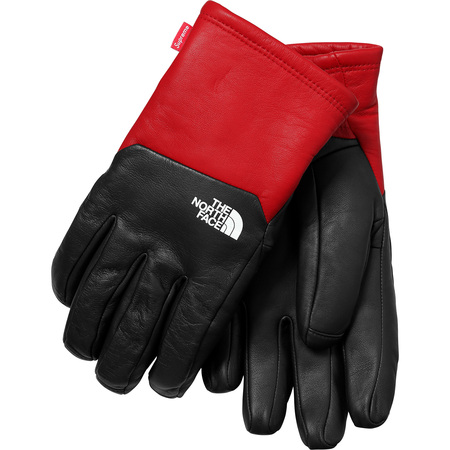 Supreme®/The North Face® Leather Gloves (Red)