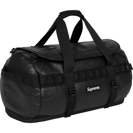 Supreme®/The North Face® Leather Base Camp Duffel (Black)