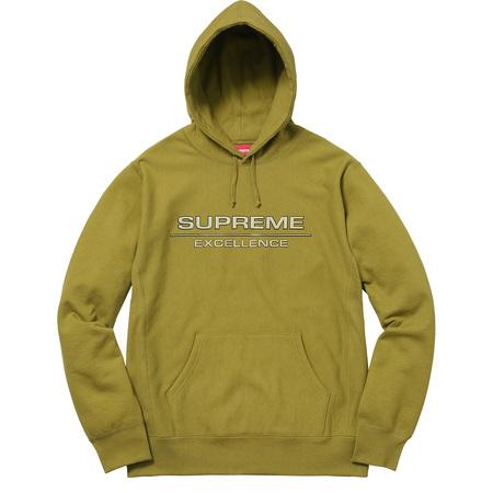 Reflective Excellence Hooded Sweatshirt (Moss Green)