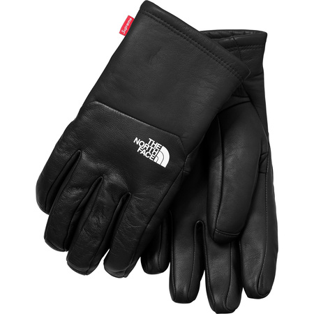 Supreme®/The North Face® Leather Gloves (Black)