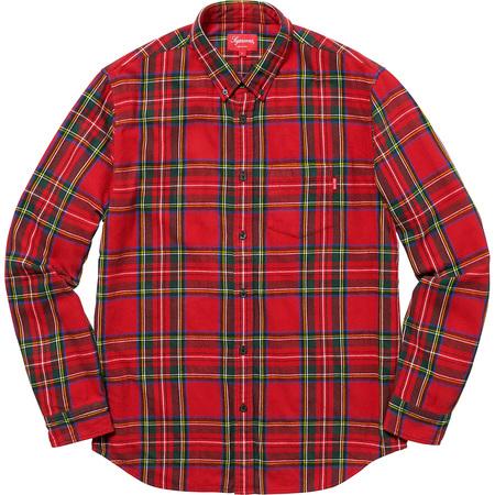 Tartan Flannel Shirt (Red)