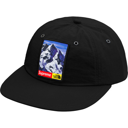 Supreme®/The North Face® Mountain 6-Panel Hat (Black)