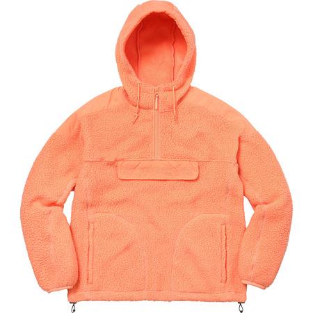 Polartec® Hooded Half Zip Pullover (Peach)