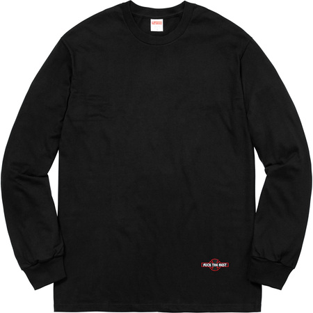 Supreme®/Independent® Fuck The Rest L/S Tee (Black)
