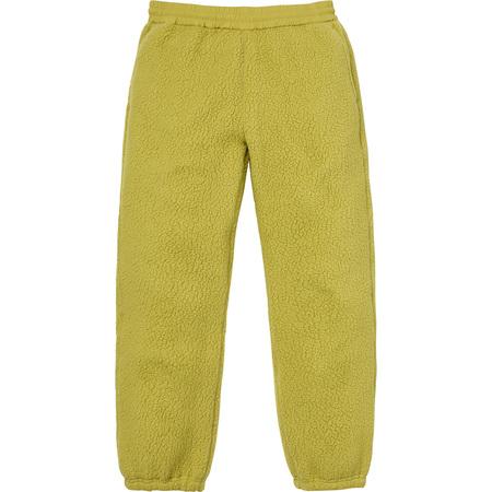 Polartec® Deep Pile Pant (Sulphur)