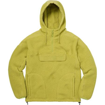 Polartec® Hooded Half Zip Pullover (Sulphur)