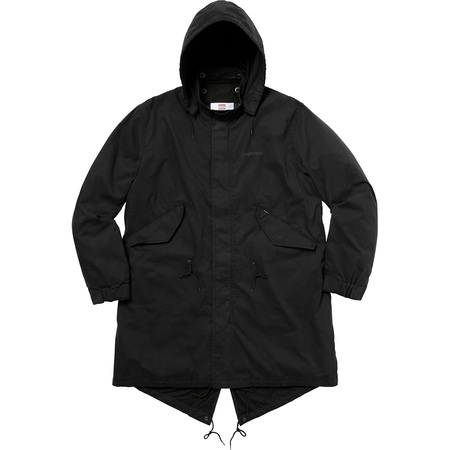 AKIRA/Supreme Fishtail Parka (Black)