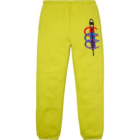 Supreme®/Champion® Stacked C Sweatpant (Bright Green)