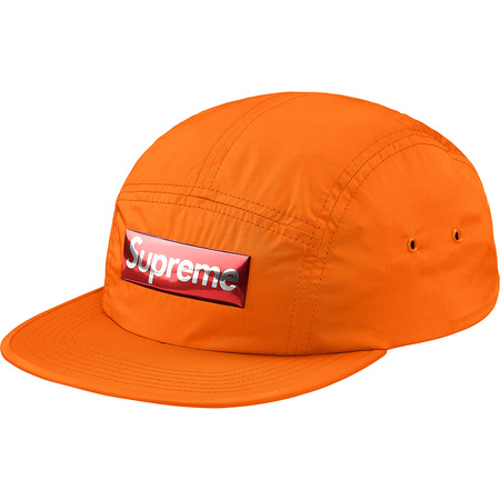 Liquid Metal Logo Camp Cap (Orange)